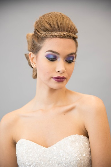 MUA: AMANA BEAUTY PHOTOGRAPHY: ALISHA KHAN PHOTOGRAPHY HAIR: INSPIRADO DESIGNS DESIGN: MOSAIC PARTY & EVENT DESIGN MODEL: RONA MAHAL WARDROBE: LILLIAN WILD BRIDAL